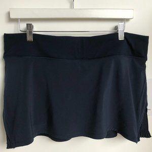 Lululemon 'Play Off The Pleats' Skirt Navy Size 12